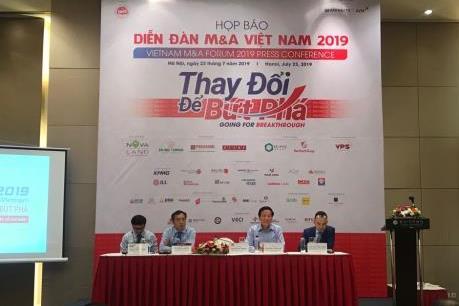 Sắp diễn ra Diễn đàn M&A Việt Nam 2019