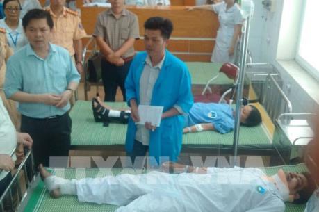 Bộ trưởng Giao thông chỉ đạo khắc phục sự cố vụ tai nạn giao thông trên Quốc lộ 5