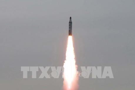 Giới chuyên gia: Triều Tiên phóng tên lửa để phản đối tập trận Mỹ-Hàn