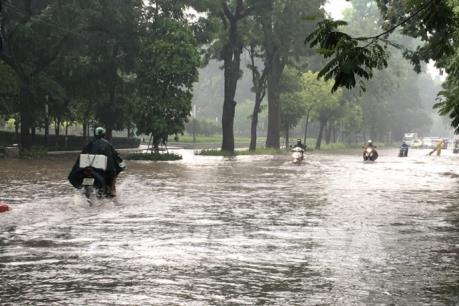 Dự báo thời tiết Hà Nội 10 ngày tới: Mưa rào và dông rải rác