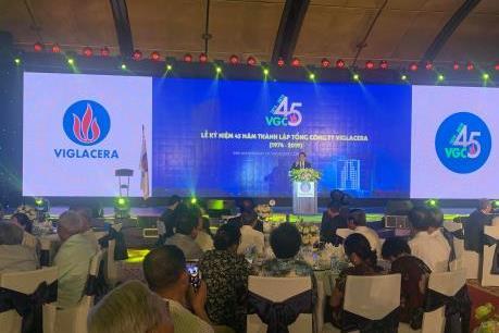 Viglacera với mục tiêu đứng đầu Đông Nam Á về vật liệu xây dựng