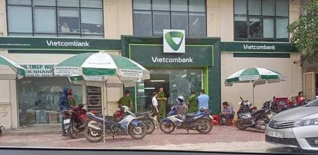Nổ súng cướp Ngân hàng Vietcombank chi nhánh Tĩnh Gia