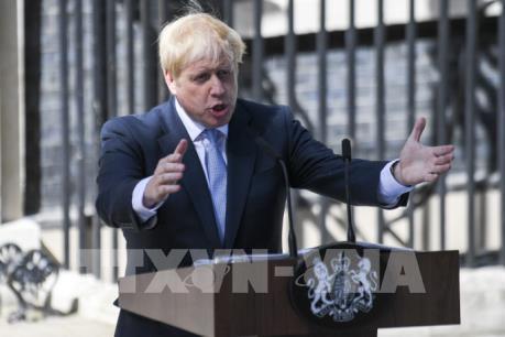 Tân Thủ tướng Anh họp nội các mới, cam kết thúc đẩy kịch bản không thỏa thuận