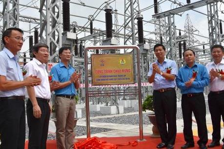 """Nâng công suất điện phục vụ phát triển """"nóng"""" ở phía Nam Thủ đô"""