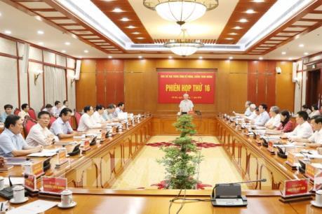 Tổng Bí thư, Chủ tịch nước Nguyễn Phú Trọng chủ trì phiên họp về phòng, chống tham nhũng