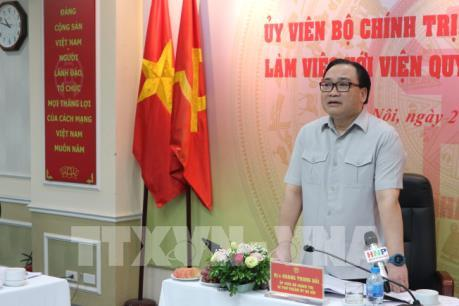 Bí thư thành ủy Hà Nội: Không để người dân phải bất ngờ về quy hoạch