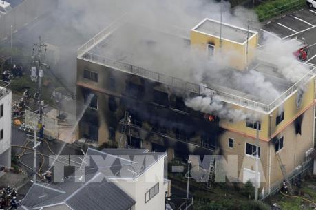 Nhật Bản kiểm soát người mua xăng sau vụ cháy xưởng phim Kyoto Animation
