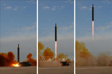 Hàn Quốc: Triều Tiên đã phóng tên lửa đạn đạo tầm ngắn 250km