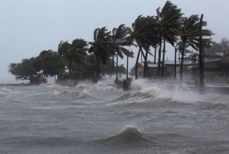 Áp thấp nhiệt đới đã mạnh lên thành cơn bão số 3