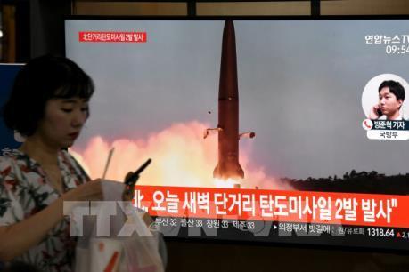 Hàn Quốc quan ngại về vụ phóng tên lửa của Triều Tiên