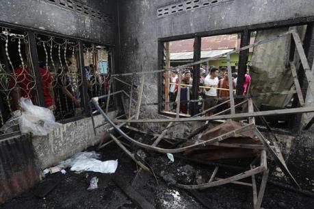 Indonesia: Cháy xưởng đóng tàu làm nhiều người thương vong