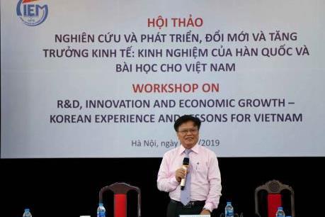 Hàn Quốc chia sẻ kinh nghiệm về đổi mới và tăng trưởng kinh tế