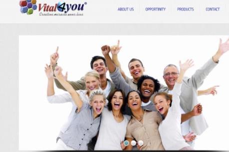 Cảnh báo bán hàng đa cấp trái phép tại vital4u.net