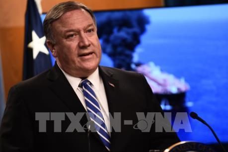 """Ngoại trưởng Mỹ chỉ trích """"hành động cưỡng ép"""" của Trung Quốc ở Biển Đông"""