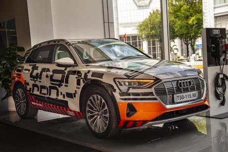 Audi muốn đưa ô tô chạy điện về Việt Nam phân phối