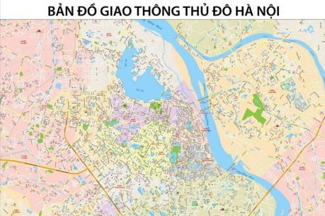 Hà Nội xây dựng bản đồ giao thông số