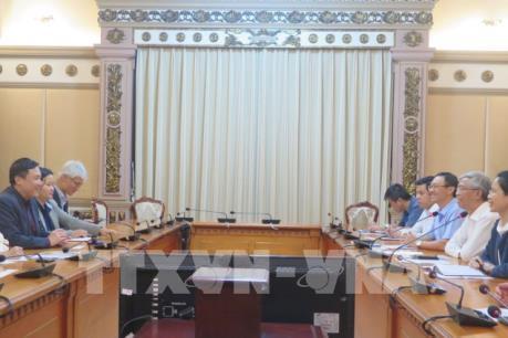 Thành phố Hồ Chí Minh kêu gọi Singapore đầu tư vào cơ sở hạ tầng