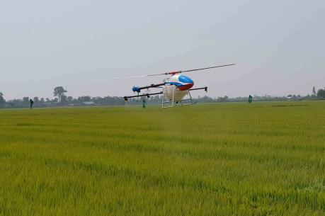Đưa máy bay không người lái phục vụ sản xuất nông nghiệp