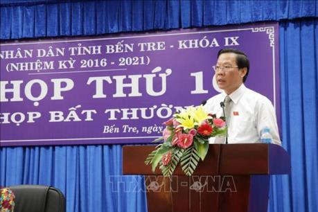 Ông Phan Văn Mãi được bổ nhiệm làm Bí thư Tỉnh ủy Bến Tre