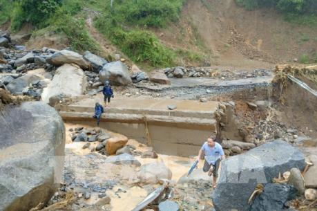 Các địa phương khắc phục hậu quả bão số 3