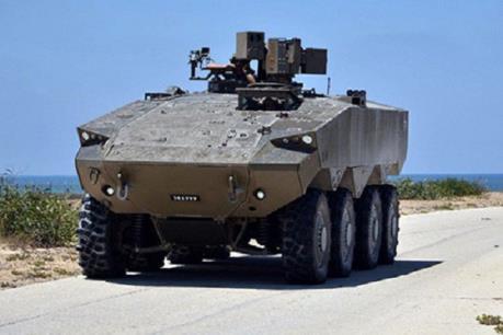 Israel đặt hàng chế tạo xe bọc thép tối tân