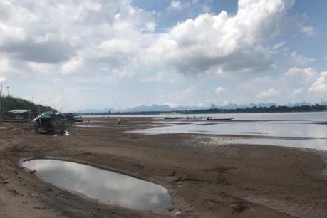 Nước sông Mekong ở Thái Lan đang lên dần sau nhiều tháng cạn gần đáy