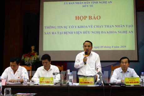 Nguyên nhân nhiều bệnh nhân bị sốc khi chạy thận nhân tạo tại Nghệ An