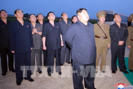 Nhà lãnh đạo Kim Jong-un nói gì về vụ phóng tên lửa của Triều Tiên?