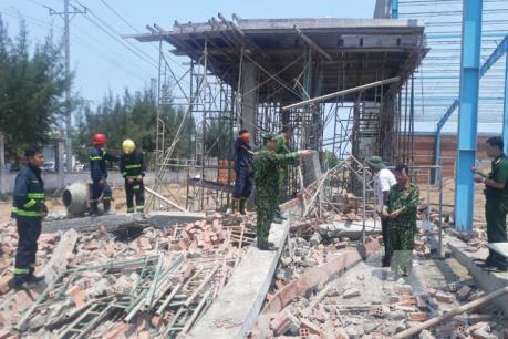 Nguyên nhân vụ sập tường khiến 7 người tử vong tại Vĩnh Long