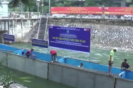 Chuyên gia Nhật Bản sẽ tắm trên sông Tô Lịch