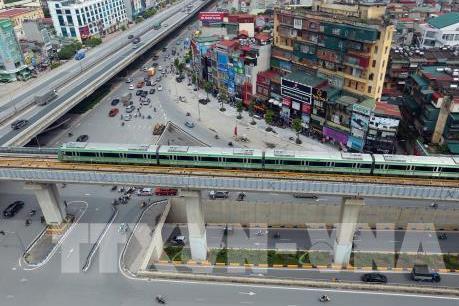 Bộ Giao thông Vận tải thông tin về đường sắt Cát Linh - Hà Đông liên tục chậm tiến độ