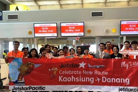Jetstar Pacific khai trương thêm đường bay  quốc tế đến Đà Nẵng