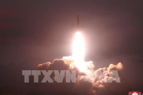 Triều Tiên lại thử nghiệm vũ khí mới
