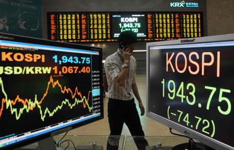 Nhà đầu tư nước ngoài mua ròng cổ phiếu Hàn Quốc