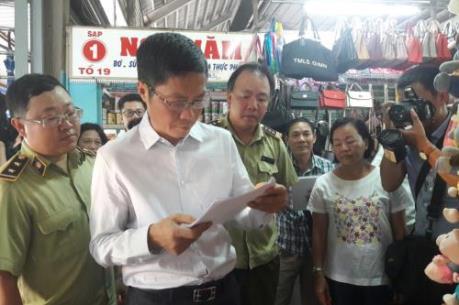 Bộ Công Thương kiểm tra, khảo sát thị trường Tp. Hồ Chí Minh