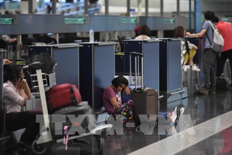 Mở cửa trở lại sân bay quốc tế Hong Kong (Trung Quốc)