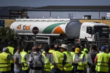 Bồ Đào Nha thiếu hụt nhiên liệu do lái xe đình công