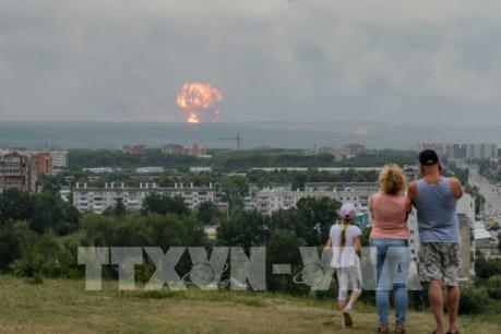 Nga: Phóng xạ tăng 16 lần sau vụ cháy nổ động cơ tên lửa thử nghiệm