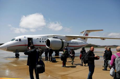 Triều Tiên mở lại một đường bay tới Trung Quốc lần đầu sau 3 năm