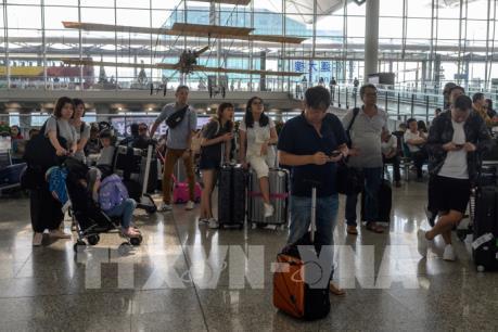 Sân bay quốc tế Hong Kong (Trung Quốc) đã nối lại hoạt động