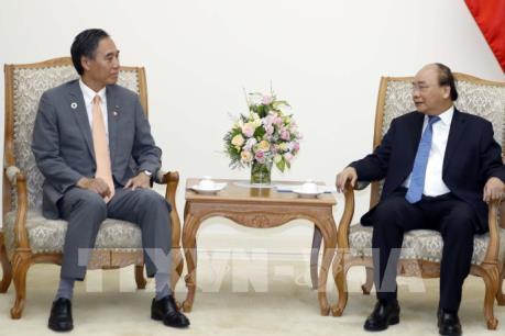Thủ tướng Chính phủ tiếp Thống đốc tỉnh Nagano (Nhật Bản)