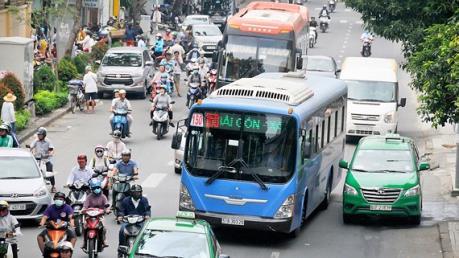 Tp. Hồ Chí Minh chưa trình phương án tổ chức làn ưu tiên cho xe buýt
