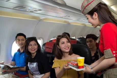 Vietjet Air bán 2 triệu vé phục vụ du xuân Tết 2020