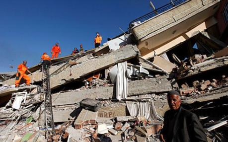 """Cảnh báo """"thảm họa"""" động đất vẫn rình rập Thổ Nhĩ Kỳ"""