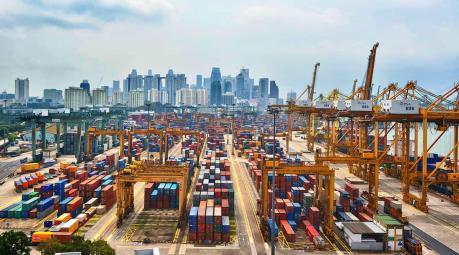 Xuất khẩu của Singapore giảm tháng thứ 5 liên tiếp