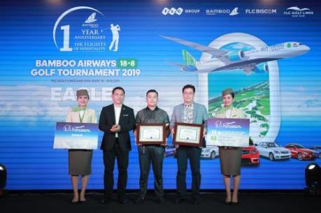 Ngày đầu tiên của giải Bamboo Airways 18/8 Golf Tournament