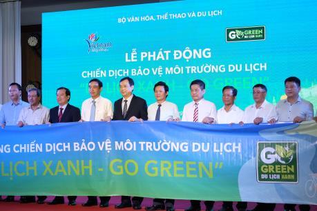 """Phát động chương trình """"Go Green-Du lịch xanh"""" cùng ngành du lịch"""