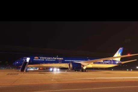 Vietnam Airlines đưa Boeing 787-10 Dreamliner vào khai thác đường bay tới Hàn Quốc