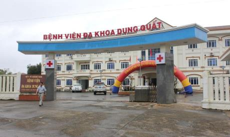 """Quảng Ngãi: """"Giải cứu"""" Bệnh viện hạng 2 đa khoa Dung Quất"""