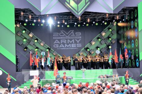 Việt Nam giành Huy chương Bạc tại Army Games 2019